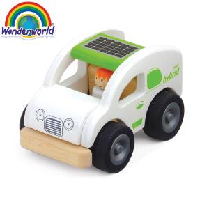 [当当自营]泰国Wonderworld 环保车 仿真木质玩具车