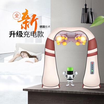 金凯瑞 颈椎按摩器 送妈妈生日礼物40-50岁老年人父亲节实用按摩仪母亲商务礼品 JKR-P1 揉捏推拿(充电版)