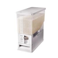 家用计量米箱 塑料密封储米箱 米缸5KG 10KG装米箱