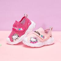 【3折价:89.7元】HelloKitty童鞋女童运动鞋春季新款儿童鞋女网面鞋宝宝潮鞋K0513806