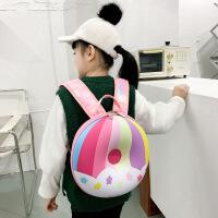 幼儿彩虹甜甜圈背包儿童双肩背包学生书包男女幼儿背包