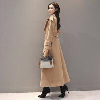 长款毛呢大衣女加厚长外套冬季新款韩版收腰显瘦过膝呢子大衣