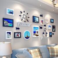 简约现代相框照片墙装饰创意个性客厅悬挂无痕钉挂墙组合 相片墙