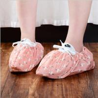 加厚家用无纺布防滑鞋套居家耐磨透气防尘防静电鞋套脚套