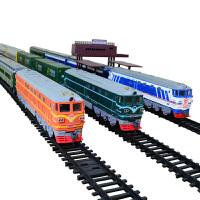儿童小火车动车高铁和谐号儿童玩具仿真电动轨道火车模型火车头 不含轨道