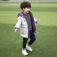 童装男童冬装棉衣2018新款儿童韩版棉服外套中长款宝宝加厚潮棉袄