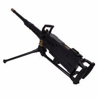 扬楷M20手摇连发大炮*重机枪手动非电动玩具枪可发射水晶弹 手摇连发大炮91CM长 标准配置