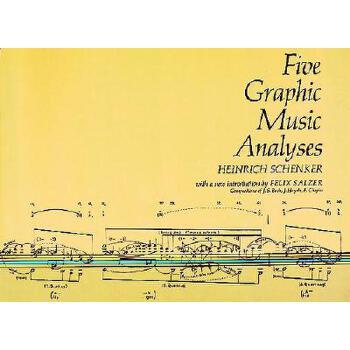 【预订】Five Graphic Music Analyses 预订商品,需要1-3个月发货,非质量问题不接受退换货。