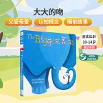 顺丰发货 The Biggest Kiss 纸板书 绘本的插画色调好柔和,简短押韵的句子也好顺口,不只把它当作亲子的晚