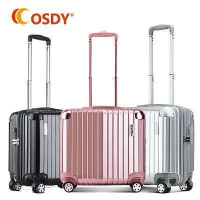 【18寸登机箱】OSDY时尚小箱子短期出行旅行轻便拉杆箱艳而不俗的色彩,多彩艳丽!高配静音!