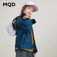 【1件3折:180】MQD童装男童牛仔卡通外套2019春秋季新款洋气潮韩版中大儿童外套