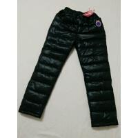 冬季童装儿童羽绒裤男童女童宝宝外穿加厚保暖中大童冬季内胆棉裤