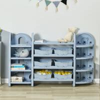 babycare儿童玩具收纳架幼儿园整理架子多层大容量置物架