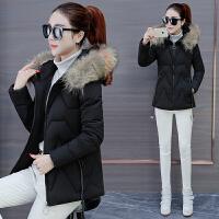 羽绒女短款2018冬季新款韩版宽松收腰小棉袄棉衣时尚加厚外套