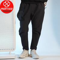 Adidas/阿迪达斯男裤新款跑步训练运动裤工装裤宽松舒适透气休闲长裤GM4424