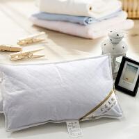 荞麦枕头枕芯全荞麦皮荞麦壳儿童单人颈椎枕头护颈 棉花枕芯 45*72*2斤 棉花枕 偏高