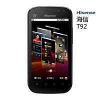 海信T92 移动3G 4英寸屏 安卓智能手机 wifi 支持电视