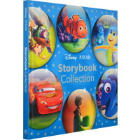 赛车总动员 迪士尼6个故事合辑 英文原版 Disney Pixar Storybook Collection 海底总动