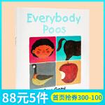 各种各样的便便 Everybody Poos 英文原版绘本 五味太郎 Taro Gomi 吴敏兰绘本123 第30本