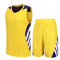 男款篮球服套装 定制印号DIY 新款透气吸汗比赛训练篮球衣