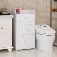 【优选】卫生间浴室用品置物架洗手间厕所马桶边柜侧柜夹缝储物收纳柜防水