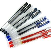 三菱UM-100 中性笔 三菱水笔 UM-100 0.5mm 三菱中性笔 多色可选三菱水笔UM100多支盒装