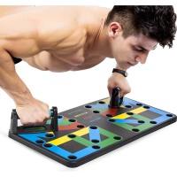 俯卧撑支架健身器材家用胸肌训练锻炼多功能可拆卸工字府俯卧撑板