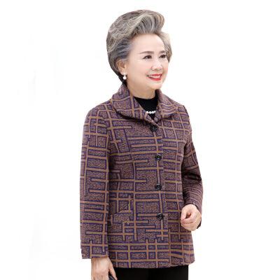 老年人女装秋冬装毛呢外套奶奶装加绒加厚老人衣服6070岁80妈妈装   请在线咨询客服或下单后有快递停运地区会及时通知您处理,发货和快递时效不保,部分商