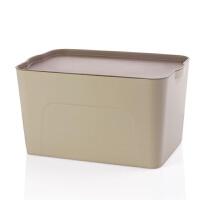 塑料衣服收纳箱家用大号整理箱衣柜衣物箱子有盖收纳盒床底储物箱