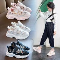 �和��\�有�2020秋季新款小白鞋中大童女童�@球鞋男童小孩子鞋子潮