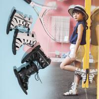 儿童凉鞋夏季宝宝凉鞋女童凉鞋2019新款罗马鞋小公主时尚软底鞋
