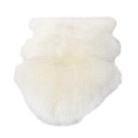 整张羊皮皮毛一体纯羊毛沙发垫客厅卧室床边长毛地毯地垫羊皮垫子定制