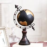 [新品上市]地球仪摆件家居摆设客厅电视柜玄关欧式酒柜装饰品美式电视柜摆钟
