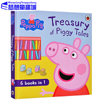 Peppa Pig 英文原版 小猪佩奇绘本 Treasury of Piggy Tales 粉红猪小妹 6合1故事合辑 3-6岁 梦想童趣城当当店铺