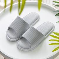 日式夏季情侣浴室拖鞋女夏2019新款防滑洗澡男女家居家用室内凉拖