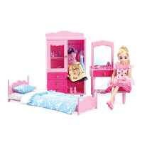 梦幻房间洋娃娃套装大礼盒别墅城堡女孩公主儿童玩具礼 梦幻房间A072 高26厘米