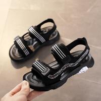 2019夏季新款鞋子韩版软底沙滩鞋男童凉鞋儿童中大童宝宝童鞋