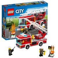 [当当自营]LEGO 乐高 城市系列 云梯消防车 积木拼插儿童益智玩具 60107