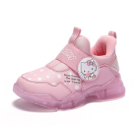 【到手价:109元】Hello Kitty凯蒂猫童鞋女童运动鞋冬季女孩保暖旅游休闲棉鞋儿童跑步鞋K9543820