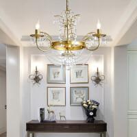 【品牌特惠】后现代客厅灯设计师吊灯轻奢水晶灯卧室创意法式别墅吊灯