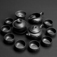 【优选】紫砂功夫茶具套装 家用整套陶瓷茶壶茶杯茶道茶具套装