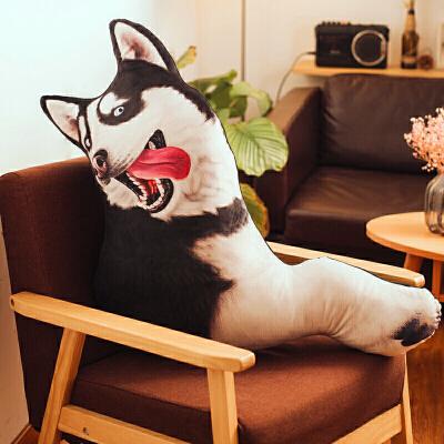 3D狗狗可爱长条枕头搞怪抱枕靠垫办公室汽车沙发睡觉床头靠枕定制   定制商品(定金)下单前请咨询客服,定制商品以咨询客服为准。否则本店有权不发货。