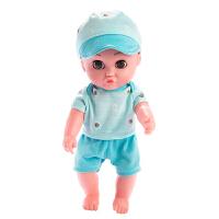 智能仿真婴儿洗澡洋娃娃软胶宝宝早教过家家儿童公主女孩玩具娃娃