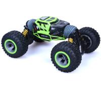 儿童遥控汽车玩具电动男孩充电大号越野炫酷四驱车翻滚无线攀爬车