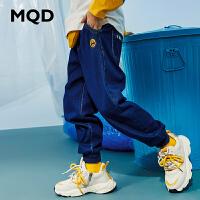 【2件3折:129】MQD童�b男童��牛仔�2020春�b新款�和�休�e�L�中大童�子潮