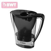 倍世BWT滤水壶 净水杯 阻垢款2.7L一壶一芯至十二芯 黑色2.7L