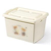 收纳箱塑料特大号有盖衣服收纳盒玩具箱子周转箱储蓄储物箱整理箱