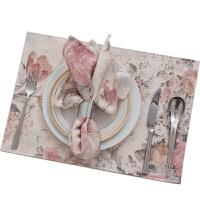 欧式加厚涤棉布艺西餐垫碗垫隔热垫餐布垫桌布桌垫杯垫子定制