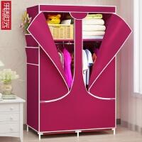 无纺布简易布衣柜收纳布衣橱折叠衣柜韩式 165x110x45