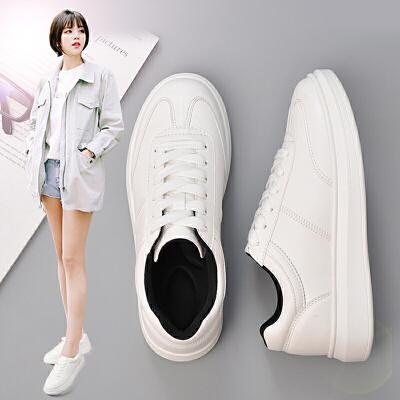 奥古狮登春季秋新款小白鞋女鞋运动鞋平底休闲鞋女板鞋韩版学生单鞋